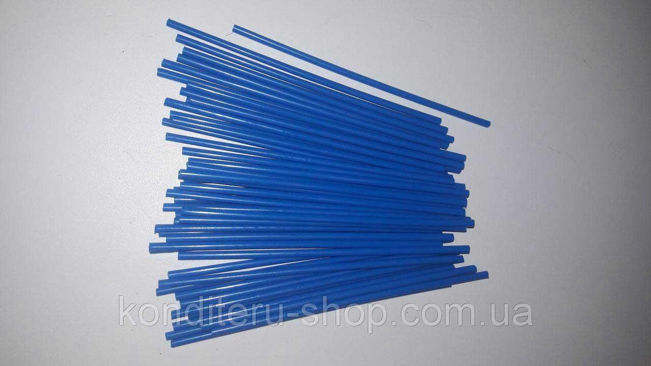 Палочки для кейк-попсов синие 15 см