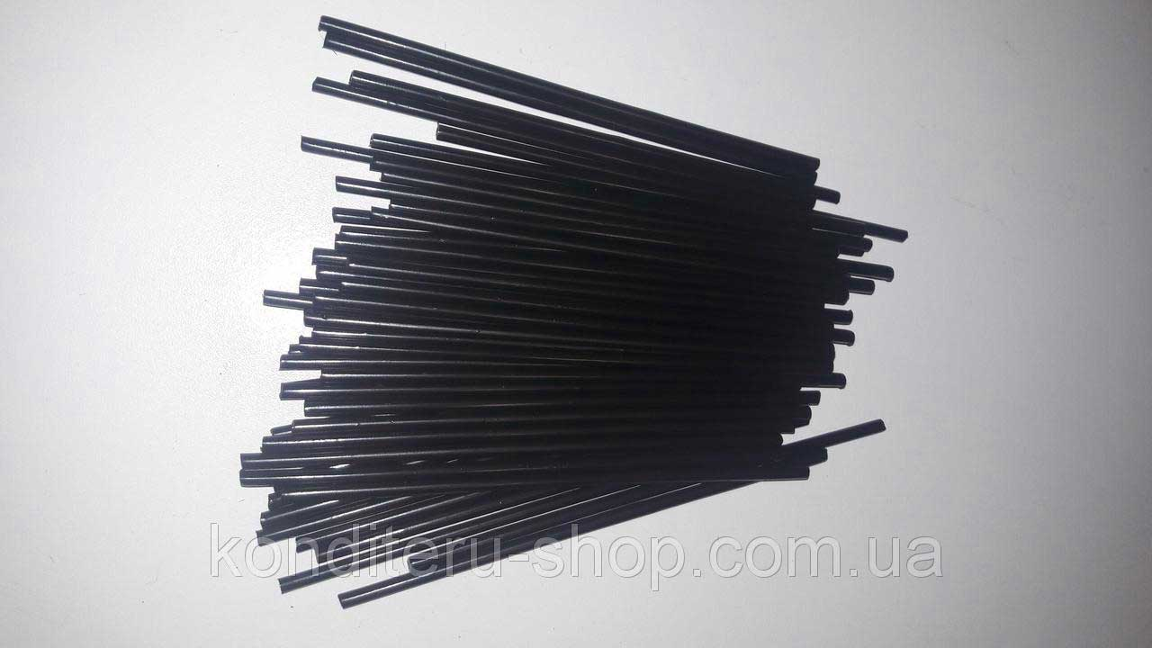 Палочки для кейк-попсов черные 15 см