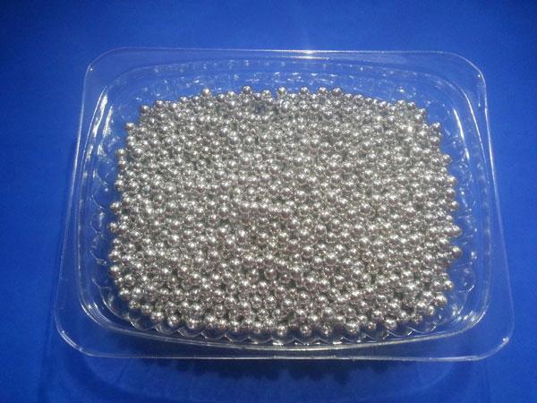 Посыпка кондитерская Шарики серебряные,3- 4 мм