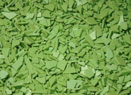 Шоколадные осколки зеленые