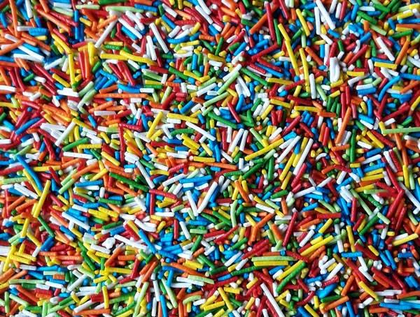 Пасхальная посыпка «Вермишель Разноцветная»