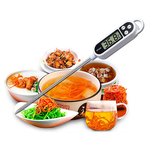 Кухонный электронный термометр со щупом TP300
