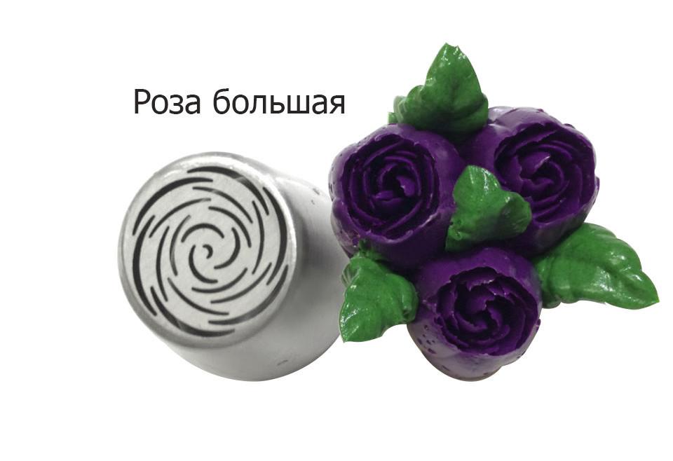Кондитерские насадки-роза для крема