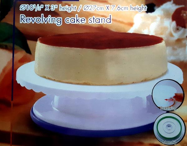 Столик поворотный кондитерский для торта