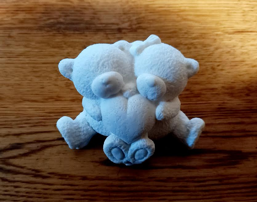 Молд силиконовый мишки