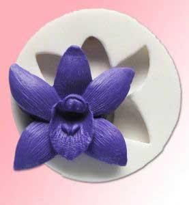 Силиконовый молд орхидея