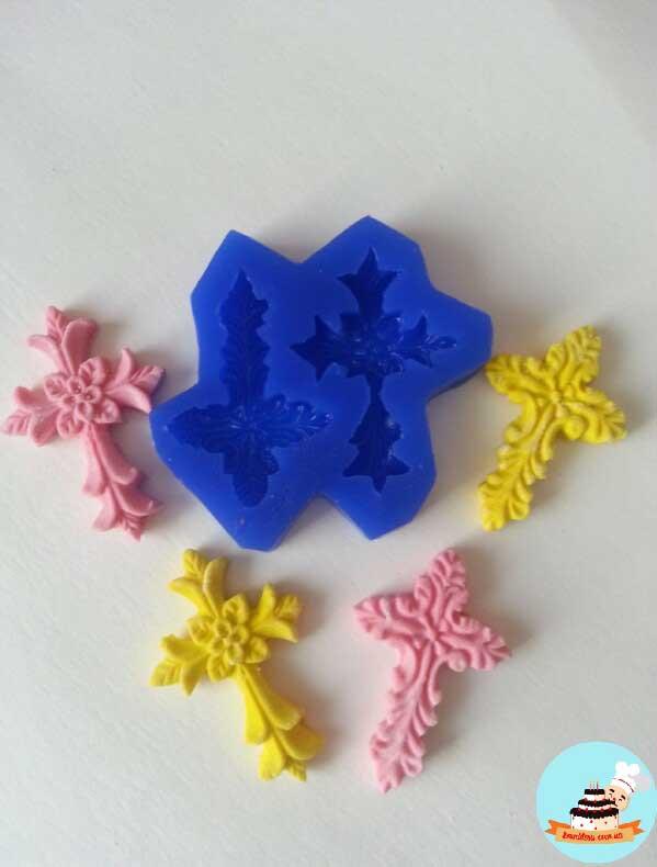 Молды крестики силиконовые