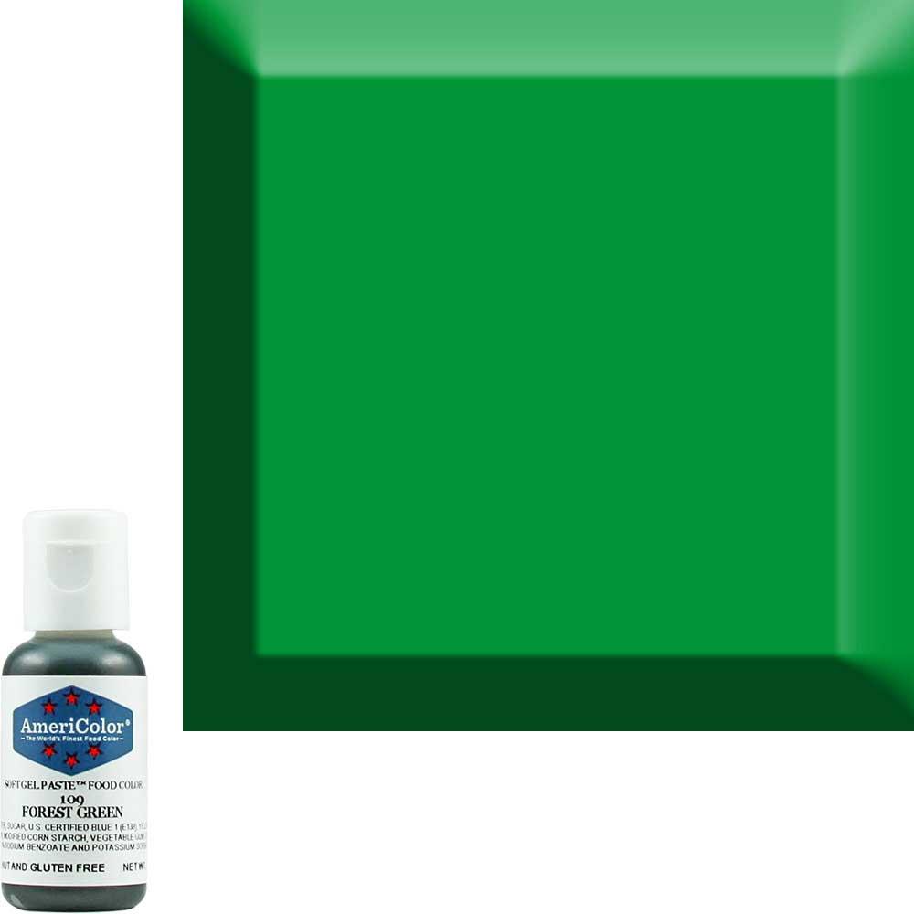 Краситель гелевый Americolor Зеленый-Лес 109