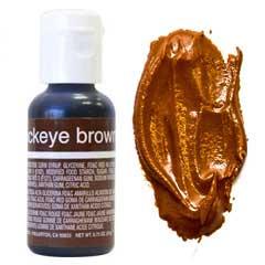 Гелевый краситель Chefmaster Buckeye Brown / Коричневый, 20 гр (США)