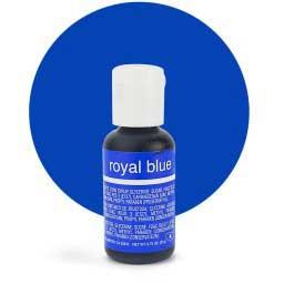 Гелевый краситель Chefmaster Royal Blue / Королевский Синий, 20 гр (США)