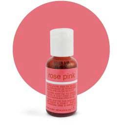 Гелевый краситель Chefmaster Rose Pink / Розовый, 21 гр (США)
