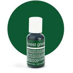 Гелевый краситель Chefmaster Forest Green / Зеленый лес, 20 гр (США)