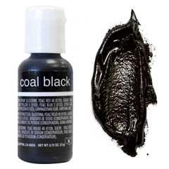 Гелевый краситель Chefmaster Coal Black / Супер Черный, 20 гр (США)