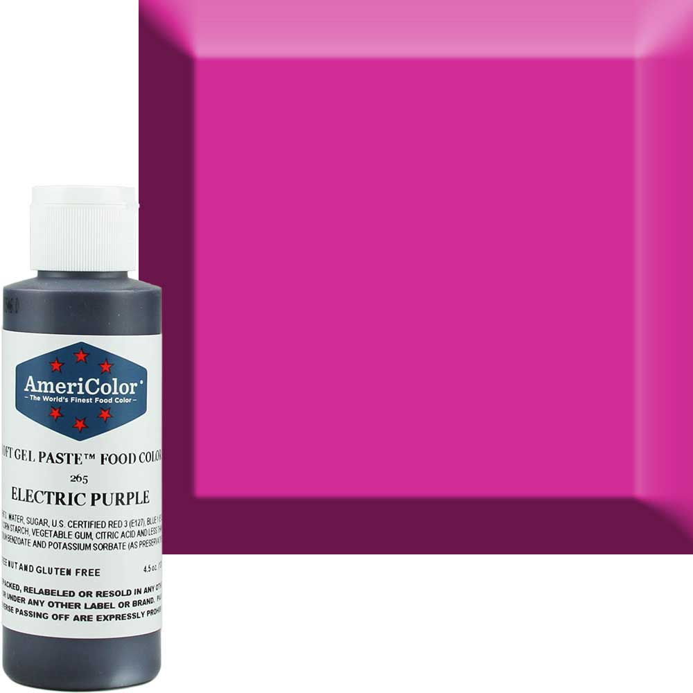 Гелевая краска Americolor пурпурный электрик 128 г