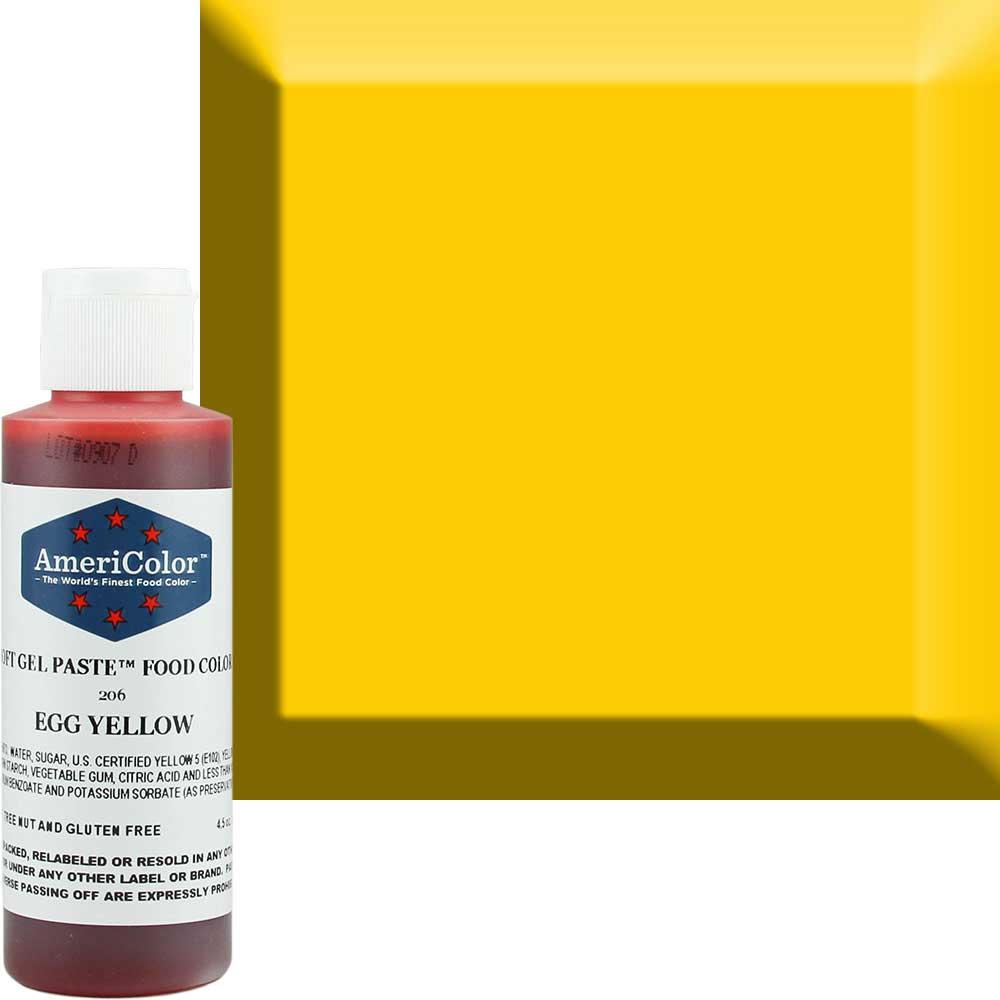 Гелевая краска Америколор Яичный желток 128 грамм