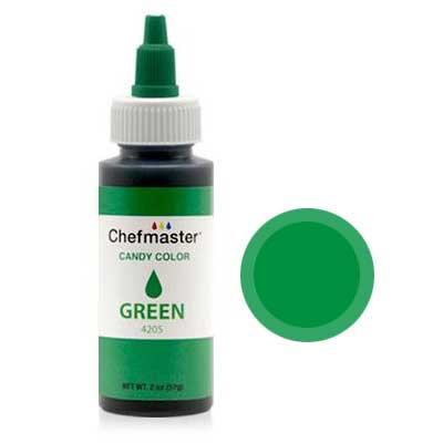 Краситель для шоколада Chefmaster Candy Color, (зеленый)