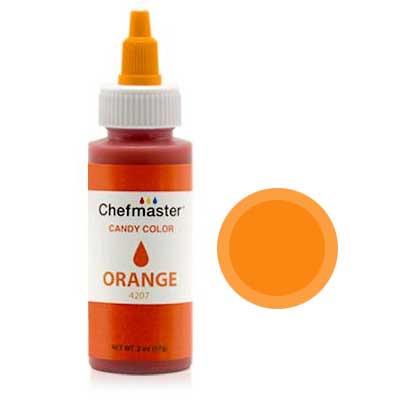 Краситель для шоколада Chefmaster Candy Color, (оранжевый)