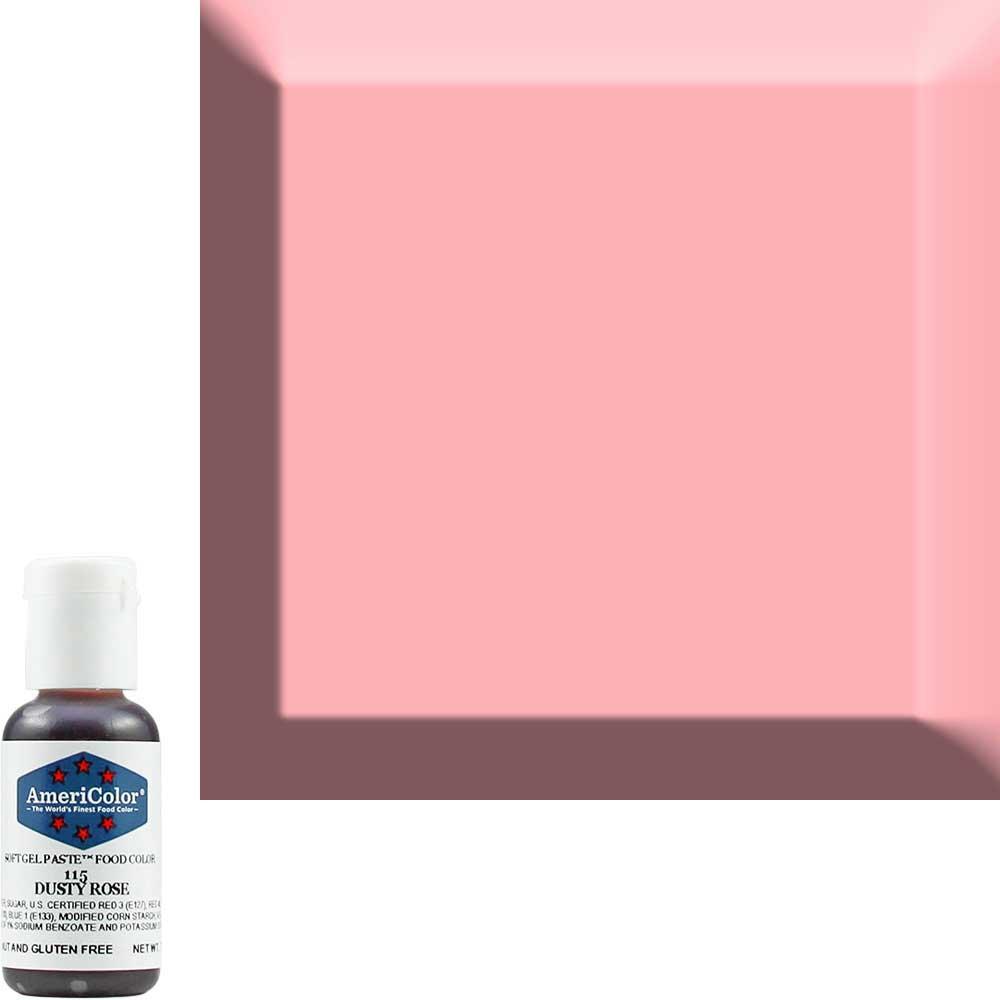 Гелевая краска Америколор Пыльная роза код 115