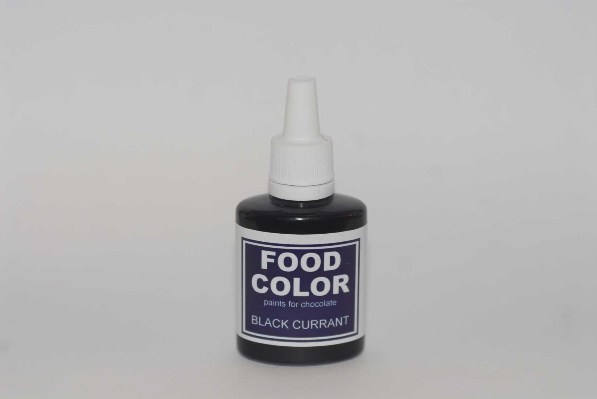 Краситель для шоколада FOOD COLOR Black Currant / Черная смородина, 25 гр