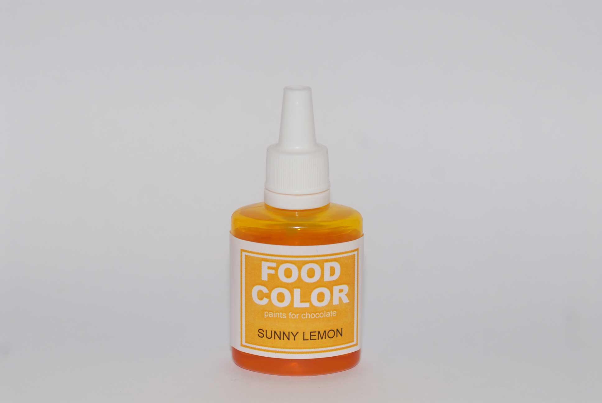 Краситель для шоколада FOOD COLOR Sunny Lemon / Солнечный лимон, 25 гр