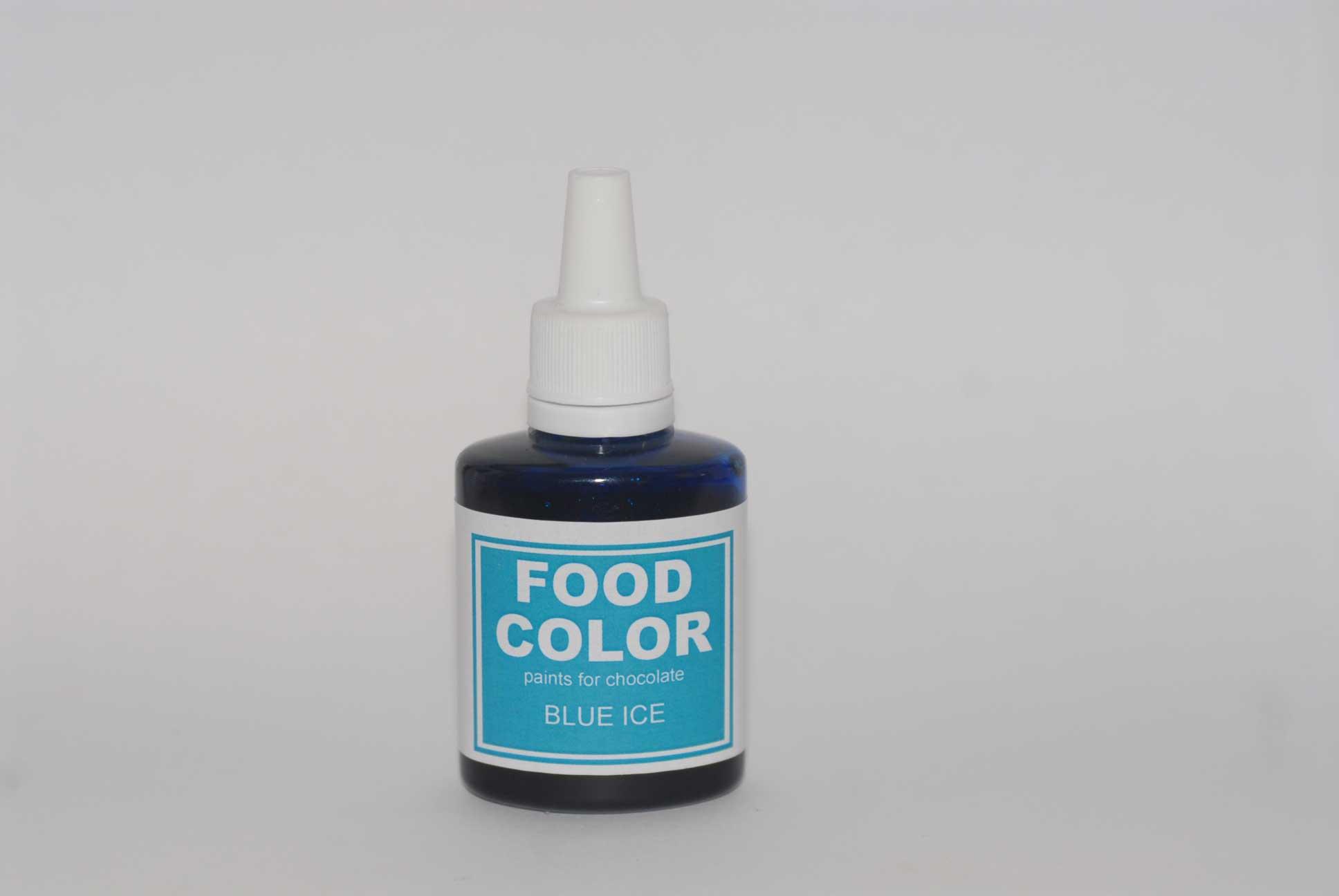 Краситель для шоколада FOOD COLOR Blue Ice / Голубой лёд, 25 гр