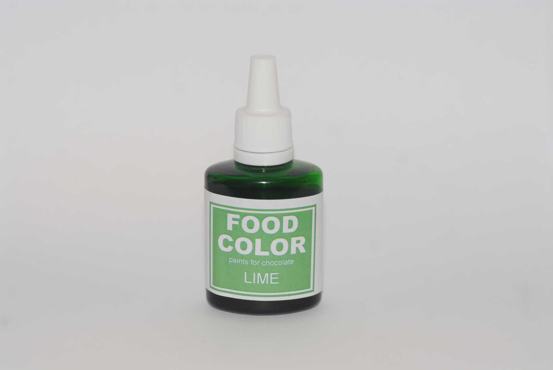 Краситель для шоколада FOOD COLOR Lime / Лайм, 25 гр