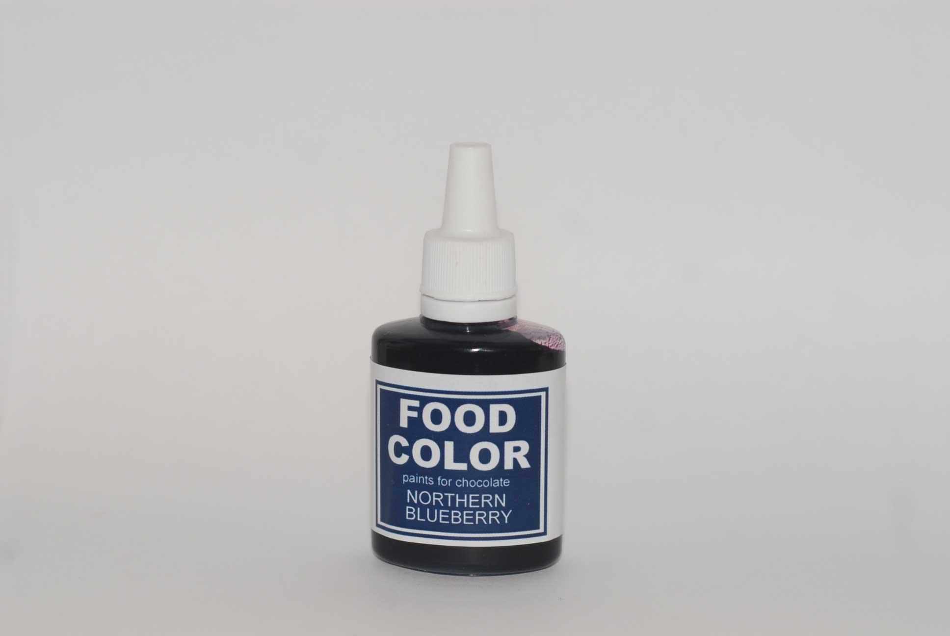 Краситель для шоколада FOOD COLOR Northern Blueberry / Северная Черника, 25 гр