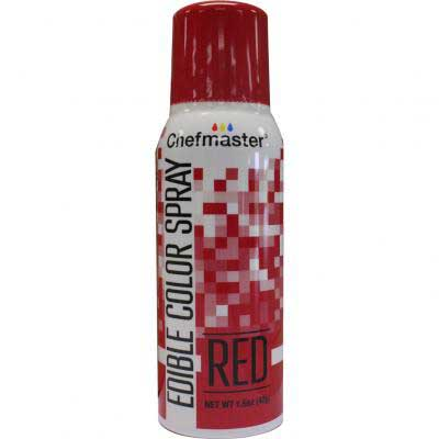 Краска-спрей Chefmaster, Edible Color Spray, (красный).