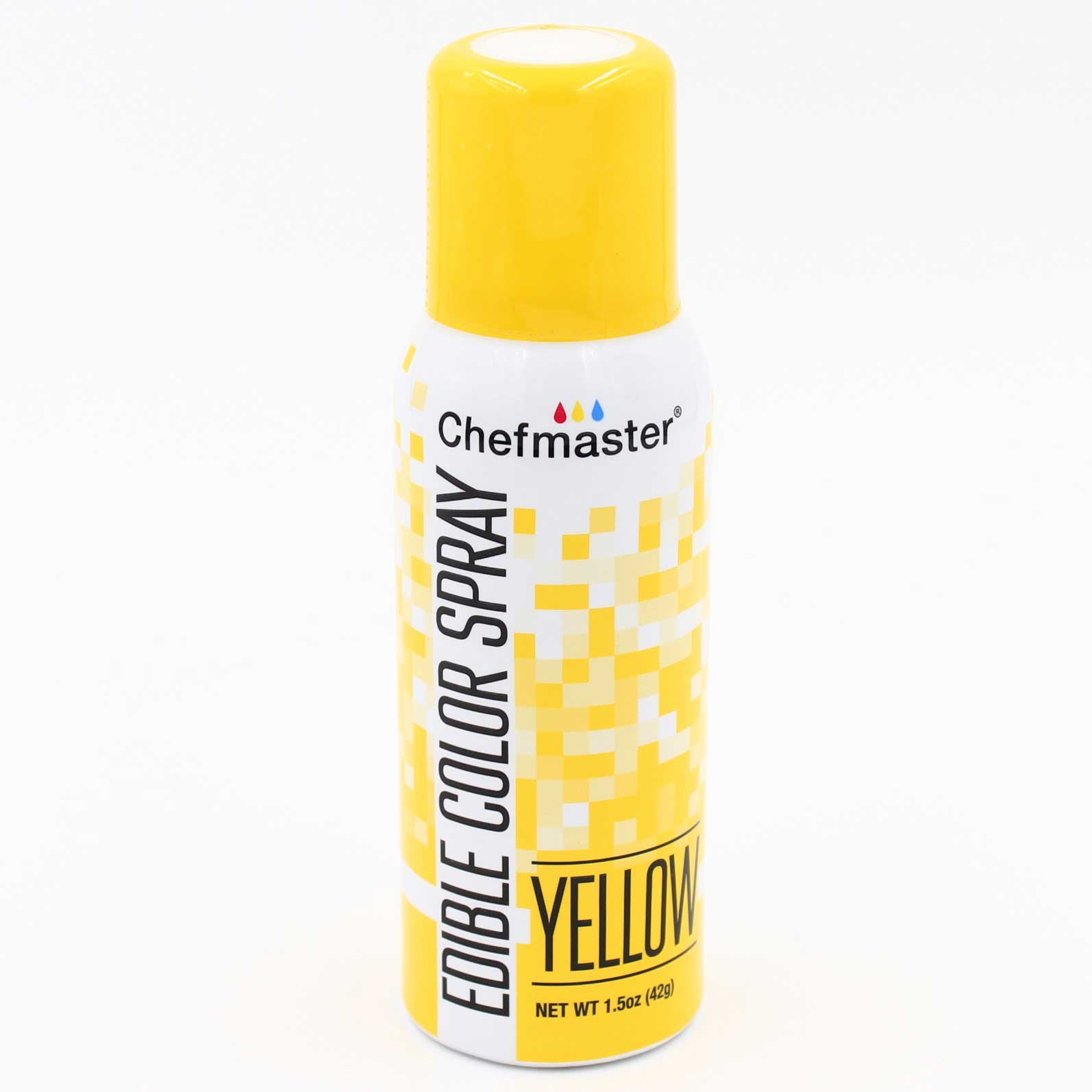 Краска-спрей Chefmaster, Edible Color Spray, (желтый).