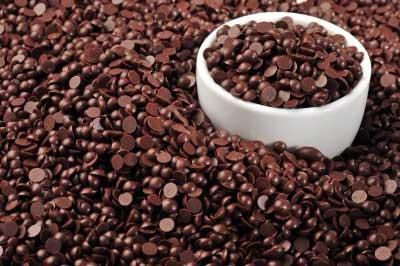 Шоколадные дропсы черные