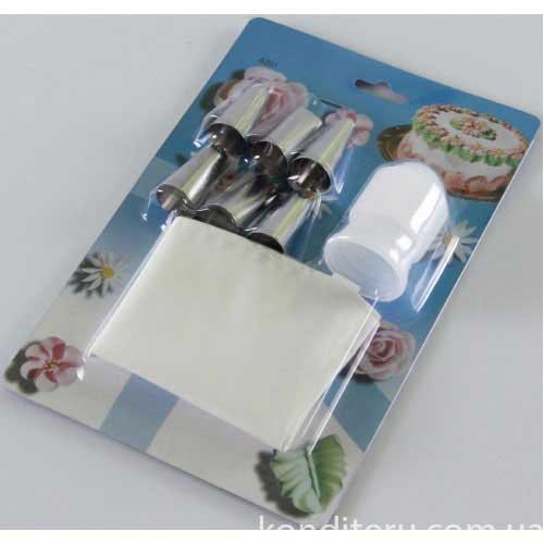 Мешок кондитерский с насадкми мнгоразовый