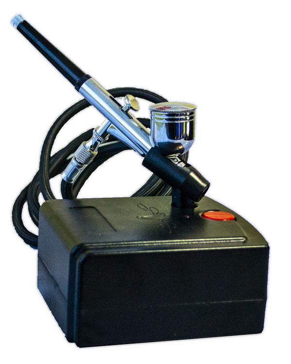 НАБОР ДЛЯ АЭРОГРАФИИ TC100Auto/TG130N конусное сопло 0,3 мм на тортах и пряниках