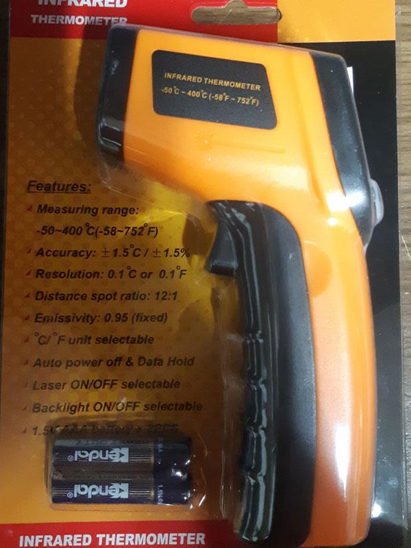 Бесконтактный Инфракрасный Термометр GM320 -50-380°C IR Infrared Thermometer
