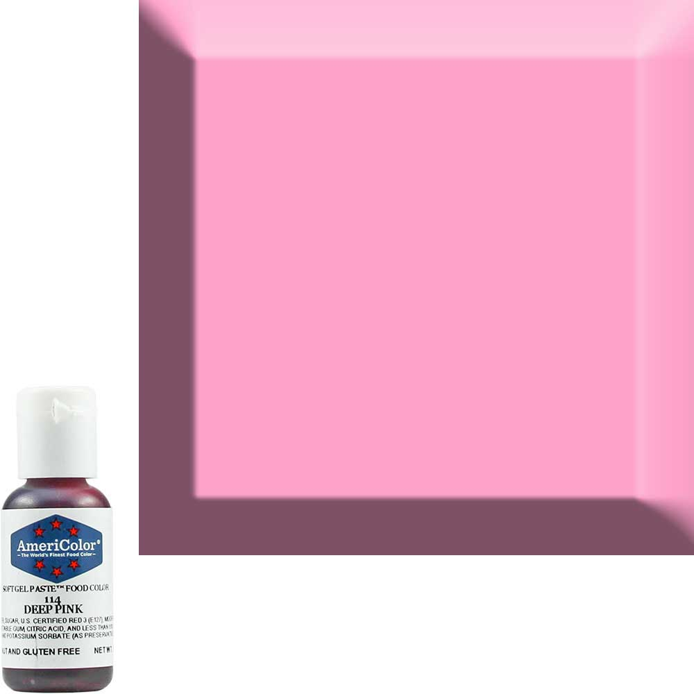 краска Americolor Темно-Розовый 114