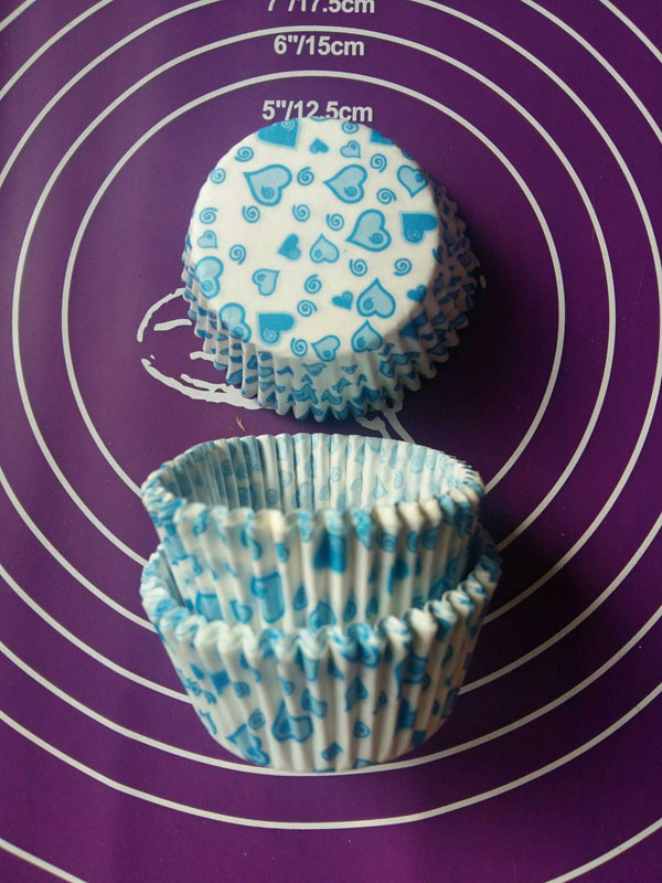Тарталетки бумажные для кексов 5 см на 3.5 см