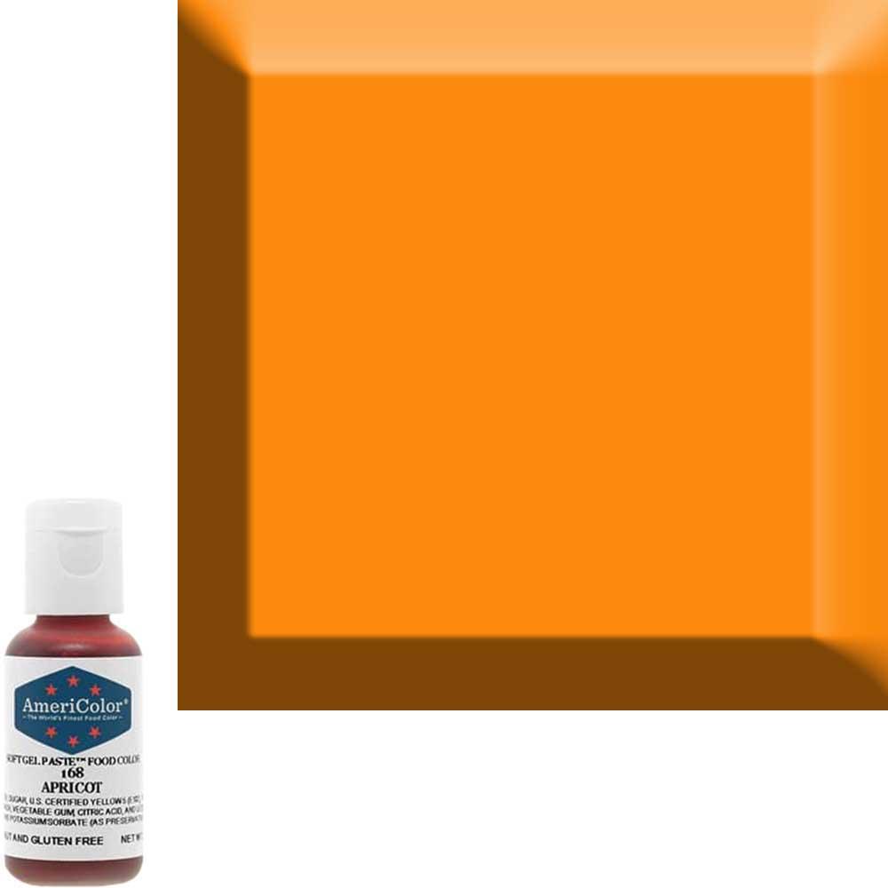 Гелевая краска Америколор Абрикос 168
