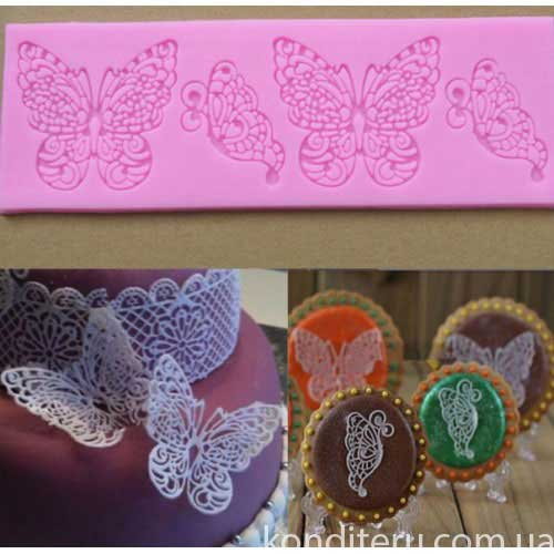 Коврик для айсинга Бабочки