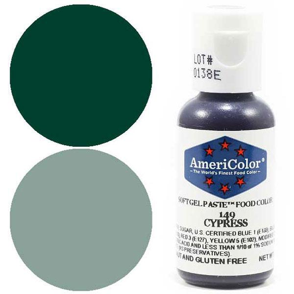 Гелевая краска Америколор Кипарис 149