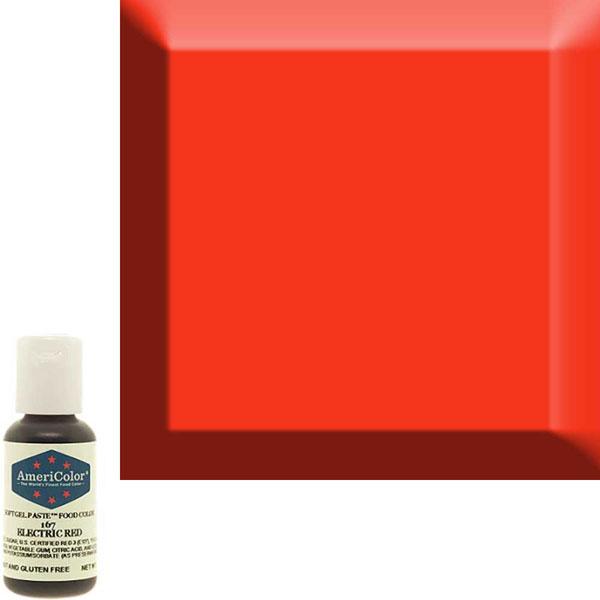 Гелевая краска Америколор Красный электрик 167