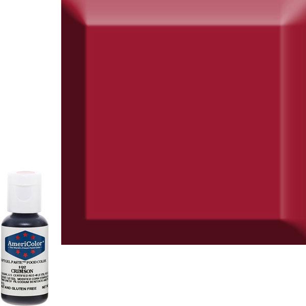 Гелевый краситель AmeriColor 192 Crimson 21г