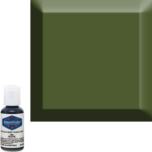 Гелевый краситель AmeriColor 191 Olive