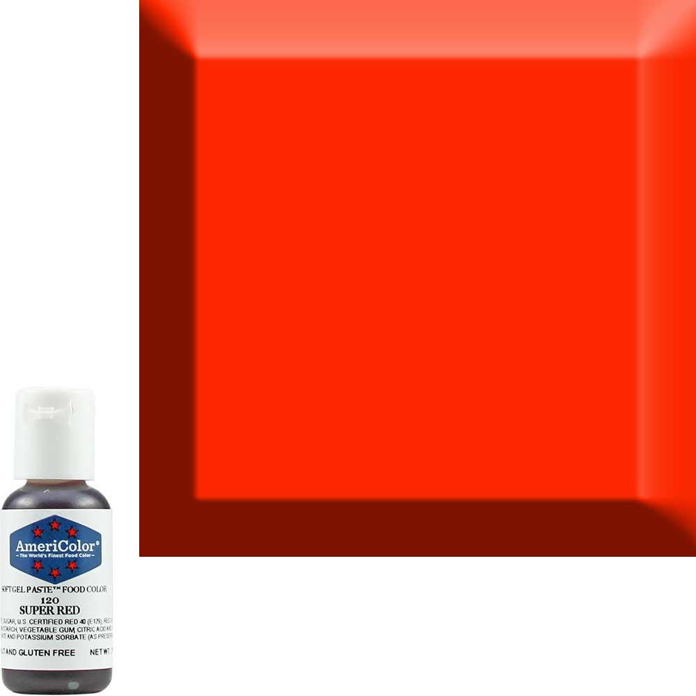 Гелевый краситель Americolor Насыщенный-красный 120