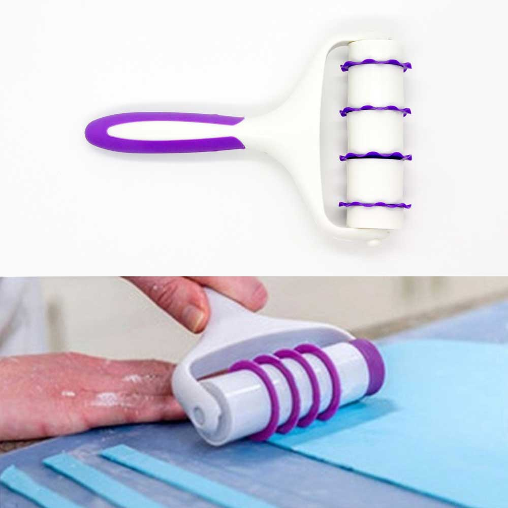 Валик для нарезания теста с насадками