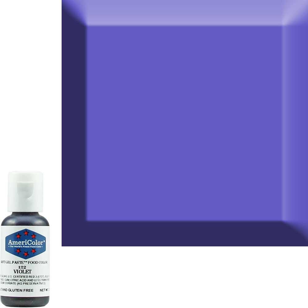 Краситель гелевый Americolor (Америколор) Фиолетовый 122