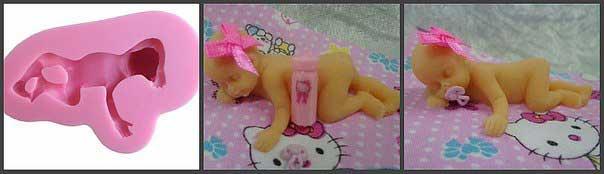 Молд младенец