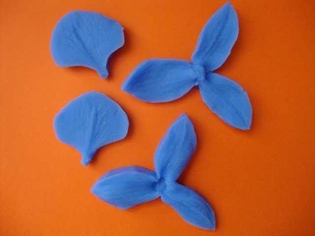 Набор силиконовых вайнеров Липестки Орхидеи