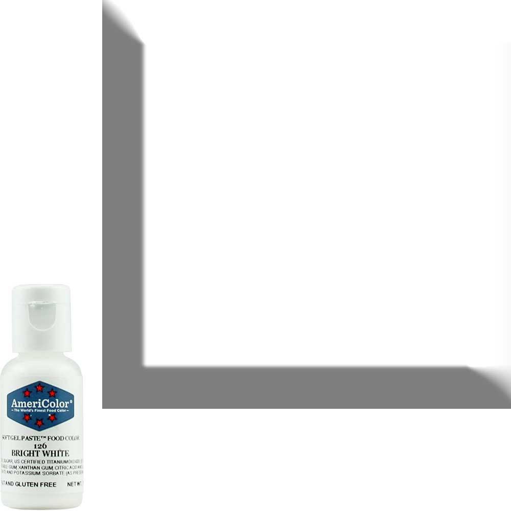Краситель гелевый Americolor (Америколор) Ярко-белый 126