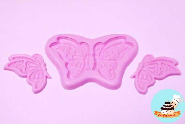 Силиконовый молд бабочка