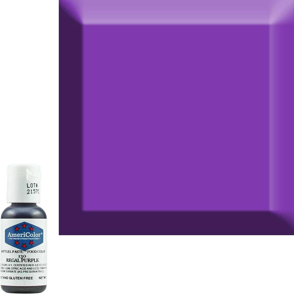 Краситель гелевый Americolor (Америколор) Королевский-Фиолетовый 130