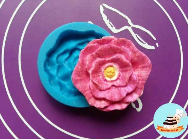 Молд цветок 5